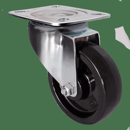 Термостойкое поворотное колесо EM01 BKB 80
