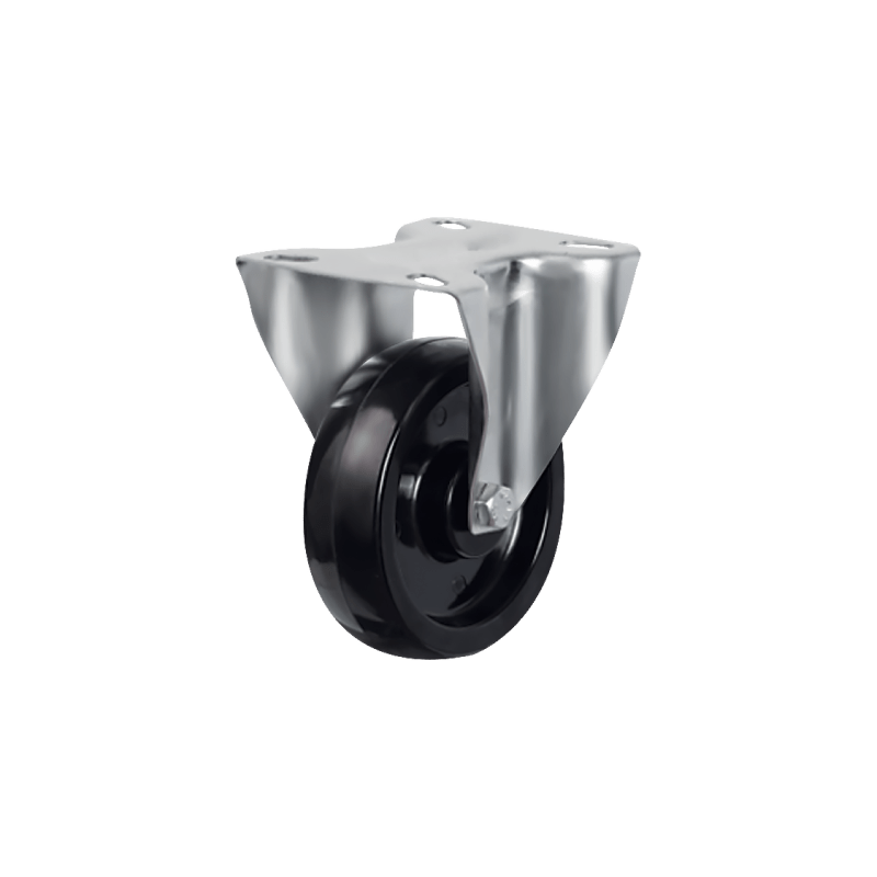Термостойкое неповоротное колесо EM02 BKB 100