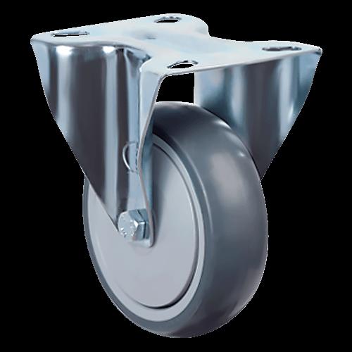Аппаратное неповоротное колесо EM02 MBT 100