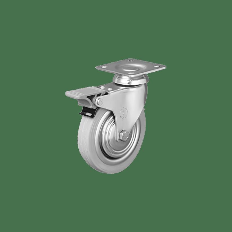 Аппаратное поворотное колесо с тормозом EP01 SPRg 100F