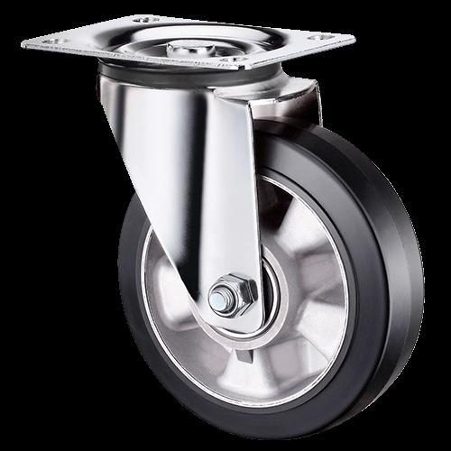 Большегрузное обрезиненное поворотное колесо SCDL 63 HEAVY