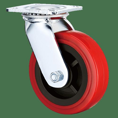 Большегрузное полиуретановое поворотное колесо SCpn 63