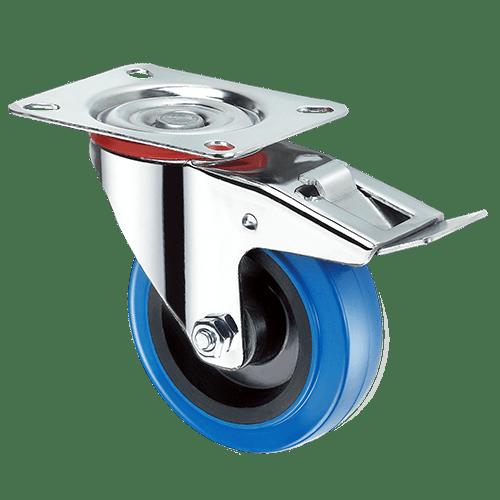 Промышленное поворотное колесо с тормозом SRCLb 55