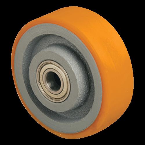 Большегрузное полиуретановое колесо на ось VBP 100