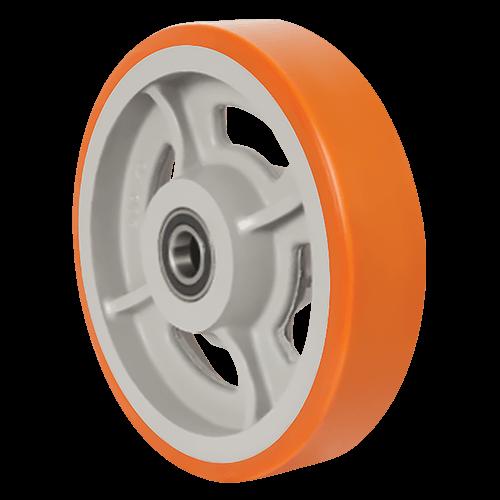 Большегрузное полиуретановое колесо на ось VBP 300