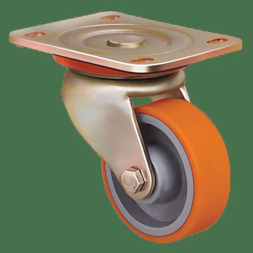Большегрузное полиуретановое поворотное колесо ED01 VBP 125