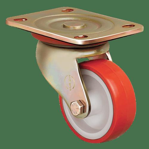 Большегрузное полиуретановое поворотное колесо ED01 ZBP 80
