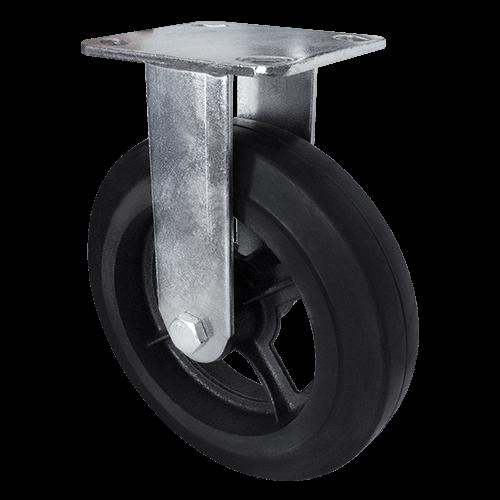 Большегрузное обрезиненное неповоротное колесо FCd 63